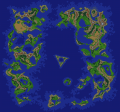 Lufia 2 World Map Lufia II: Rise of the Sinistrals   Map Selection