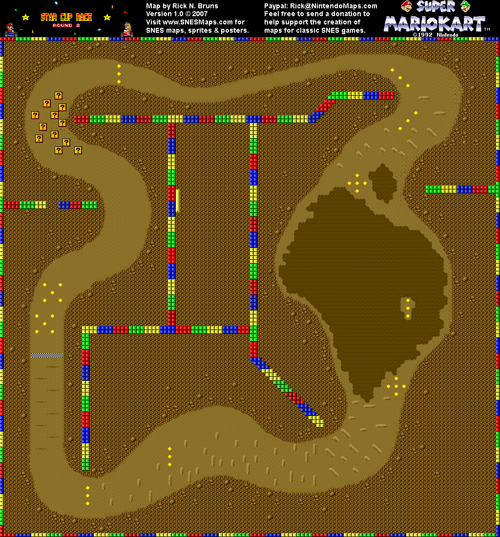 Choco Island  Map