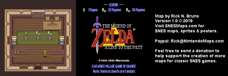 The Legend of Zelda: A Link to the Past - Kakariko Village